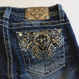 Miss Me | Bling Pocket Boot Jean Size 16